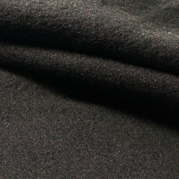 Double Jersey (Black Yarn Dyed Fabric) / 100% Polyester