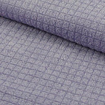 Split Microfiber Checkered Fabric / 65% Polyester, 35% Nylon